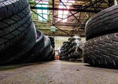 Used tire and wheel inventory