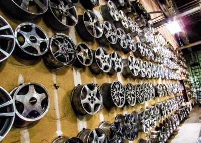 Used wheel inventory