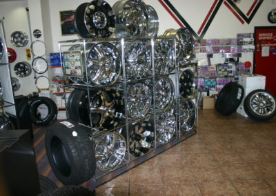 Wheel Rack Display
