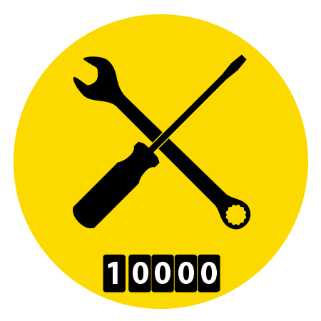 Wrench and screw driver icon