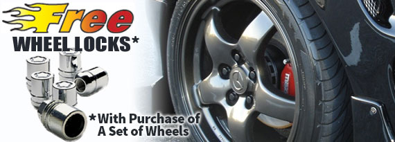 Free wheel locks coupon