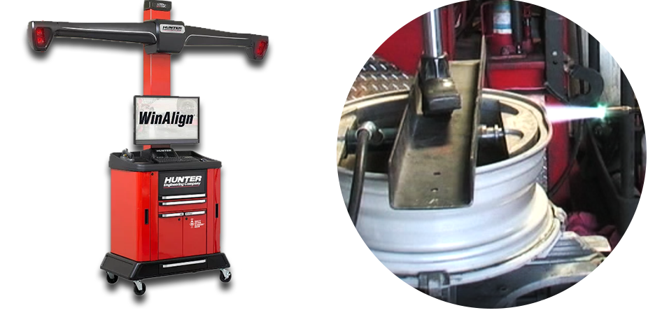 Wheel Alignment Machine and Wheel Repair