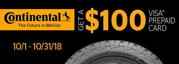 Continental tire rebate